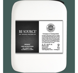 RE SOURCE Collection-5 Litre-Bidot-Gel Lavant pour les Mains et le Corps