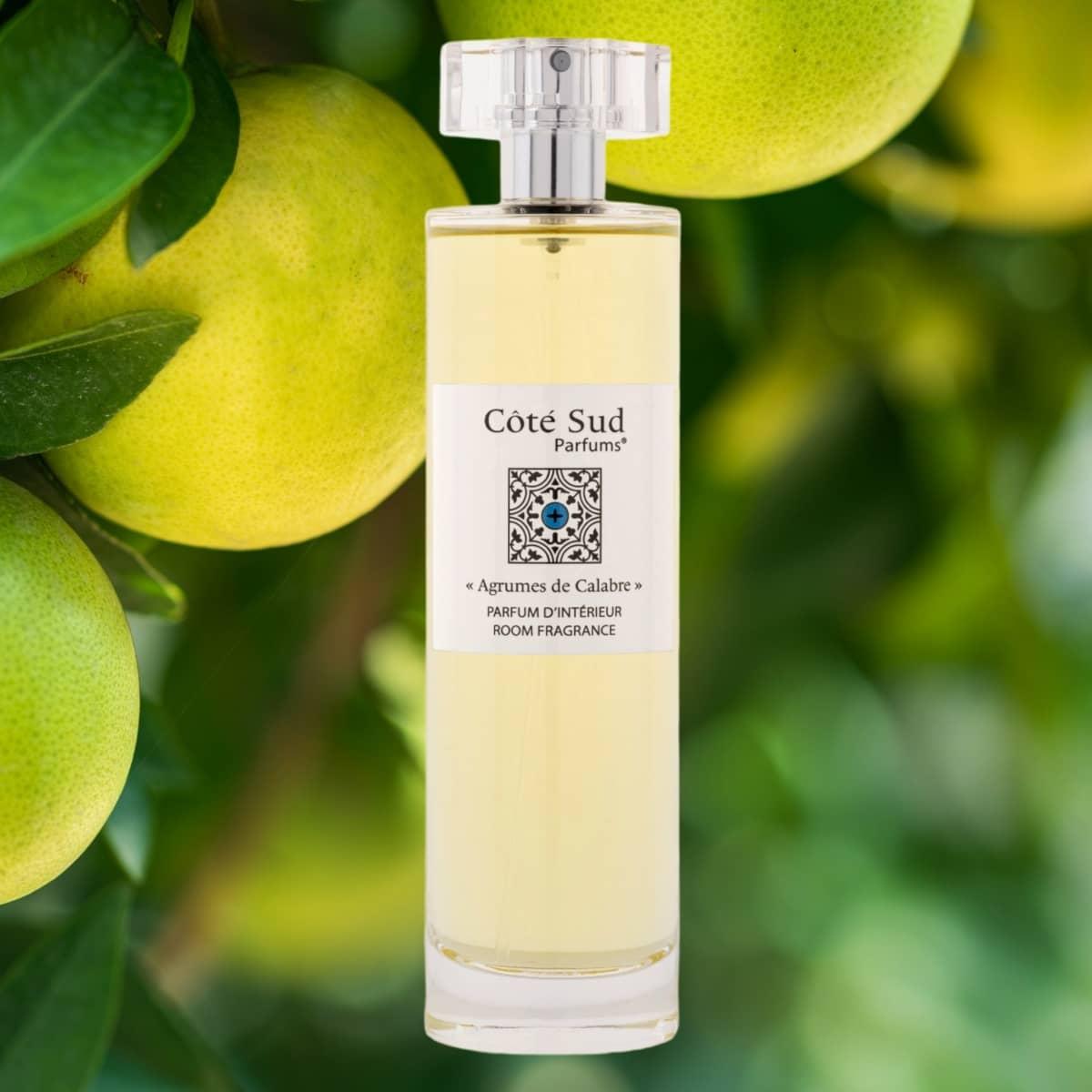 Côté Sud Parfums Agrumes de Calabre parfum d'intérieur