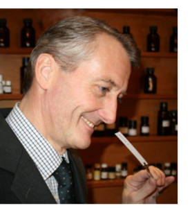 Olivier Decoster | Perfumer and Founder of HD Fragances | Working in his Lab