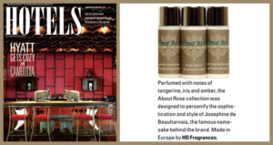 HD-Fragrances | About Rose luxury hotel collection Hotels Magazine January 2014