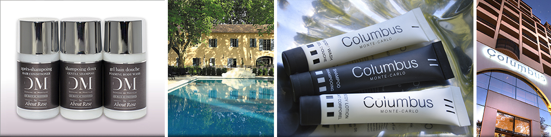 HD Fragrances Luxury Hotel Toiletries | Tailor-Made Collections | Domaine de Manville, Provence | COLUMBUS Monte Carlo