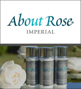 Hotel Toiletries for Boutique Hotels and Cruise Lines by HD Fragrances   About Rose Impérial