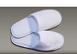 About Rose Collection | Closed Toe Slipper in white towelling 29cm | HD Fragrances
