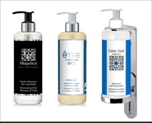 Pump Dispensers by HD Fragrances | Cosmetic dispenser solutions for boutique hotels and cruise lines