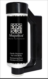 Press & Wash Dispensers by HD Fragrances | Cosmetic dispenser solutions for hotels- Majolica Noir