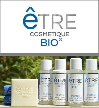 Hotel Toiletries for Boutique Hotels and Cruise Lines by HD Fragrances | Être Cosmétique BIO