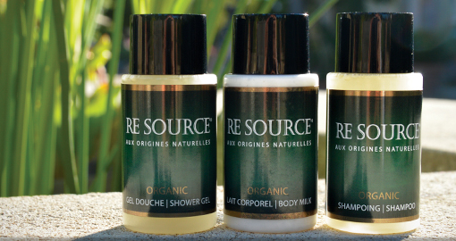 Authentic organic guest toiletries designed to be a natural as possible | ETRE cosmétique Bio