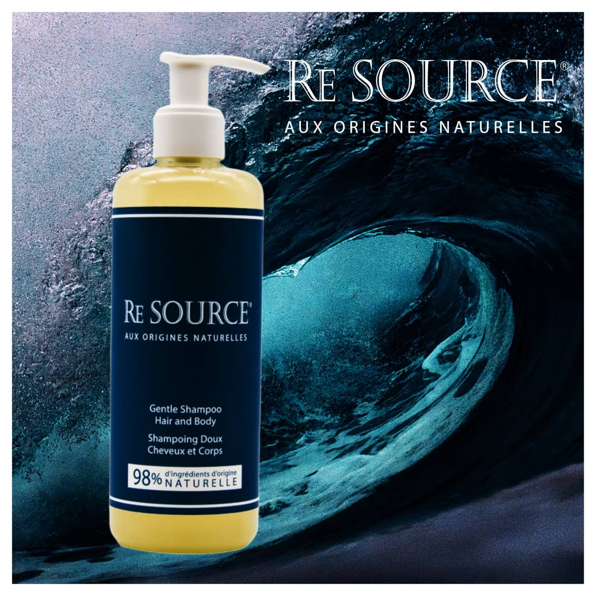 RE SOURCE Éditon Mer 300ml hotel cosmetic dispenser