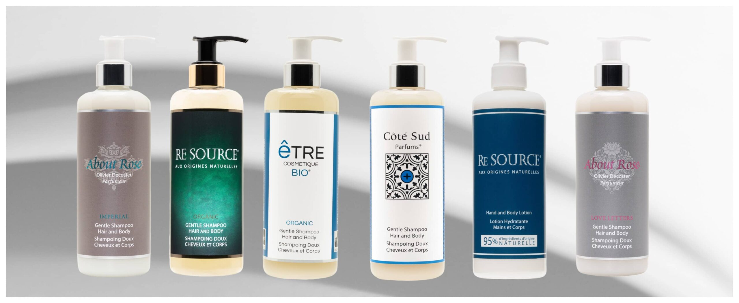 Hotel Toiletries in refillable 300ml pump bottles