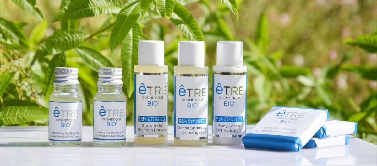 produits d'accueil bio Etre cosmetique